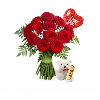 Red Roses Package
