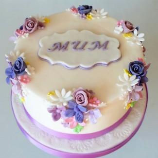 Garden of Rose MOM Cake