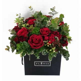 Crazy Roses in a Black Box