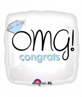 OMG Congrats Balloon