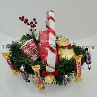 Chocolate christmas arrangement