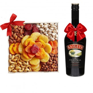 Combination baileys and Dried Fruits