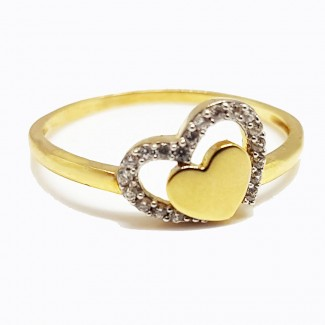 Two Hearts in One Gold Ring