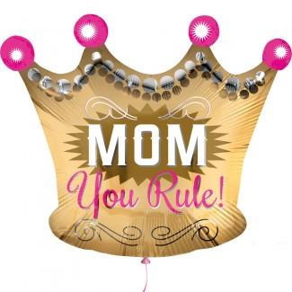 You Rule MOM Balloon