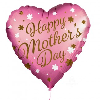 Mothers Day Balloon Satin infused