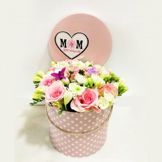 Elegant Mom Roses Box