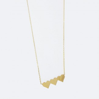 Triple Hearts Necklace