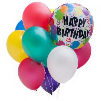 Happy Birthday Arragement Balloon