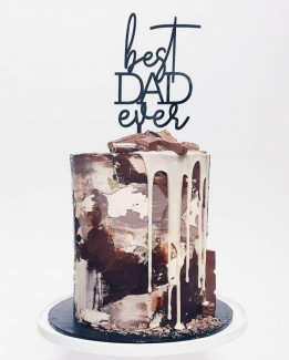 Best Dad Ever Cake