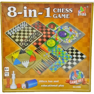 Eight in One Chess Toy