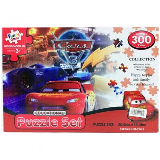 Cars Puzzle 300 Pieces Set