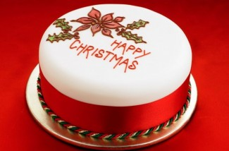 Happy Christmas Cake