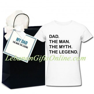 DAD LEGEND TShirt and bag combo