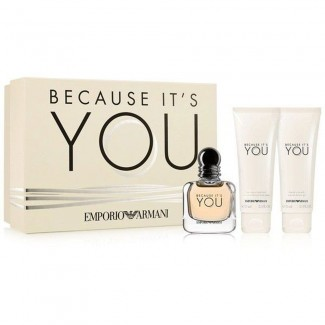 Emporio Armani Because It's You Gift coffret