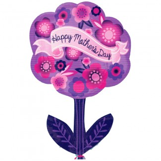 Mothers Day Helium Flower Balloon