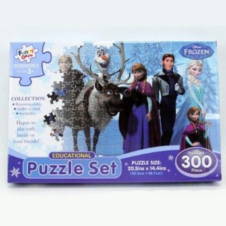 Frozen Puzzle Set