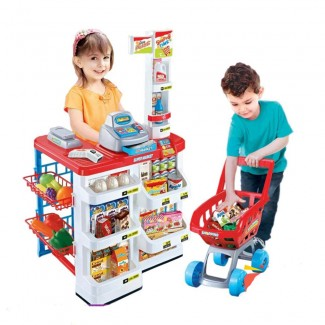 Home Supermarket Playset