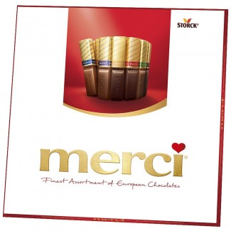 Merci European Chocolates Assortment