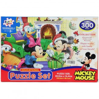 Mickey Mouse Puzzle 300 Pieces