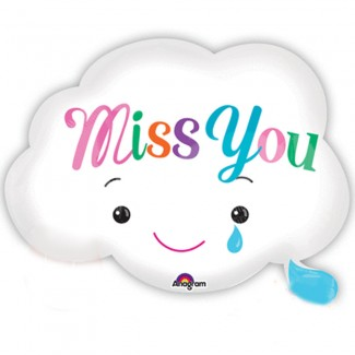 Miss You Cloud Balloon