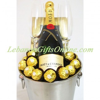 Moet and Ferrero