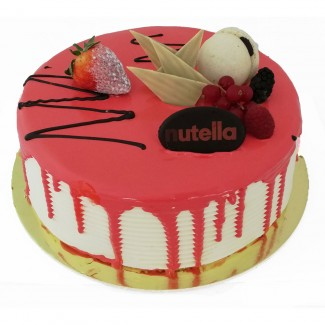 Nutella Filling Cake