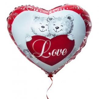 Hug me Bear Love Balloon