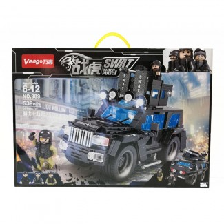 Swat Tiger Of Police Toy