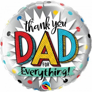 Thank You DAD Balloon