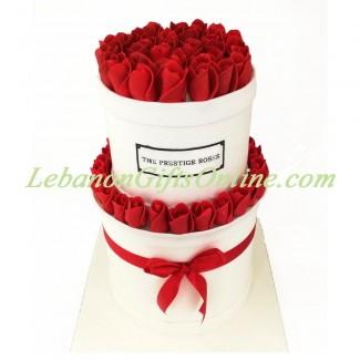 The Prestige Roses Cake