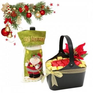 Kefraya Wine in a Bag with Chocolate