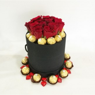 Elegance Roses and Ferrero