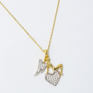 My Angel Gold Necklace