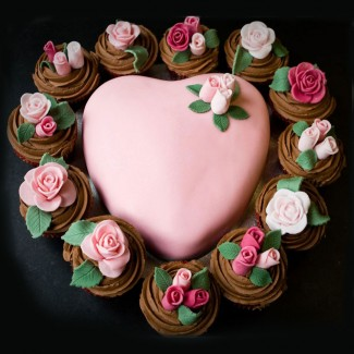 The Heart Love Cupcakes