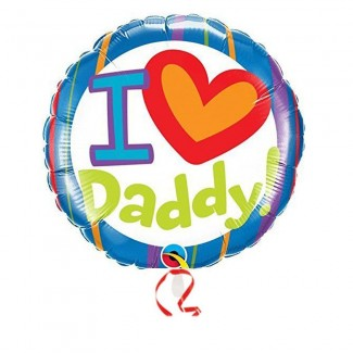 Daddy is My Heart Balloon