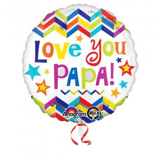 Luv u Papa Balloon