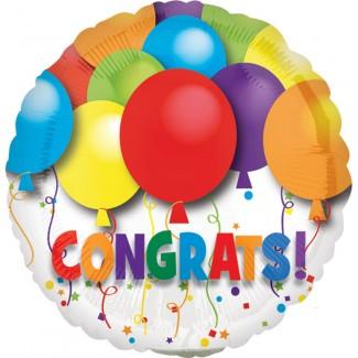 Bold Congrats balloon