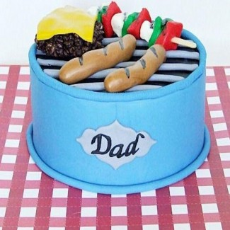 Barbecue Dad Cake