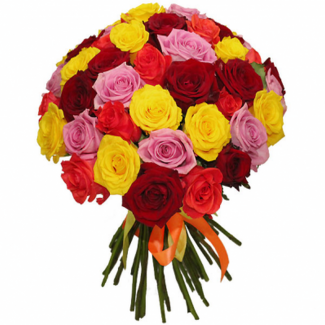 Five Colors in One Bouquet