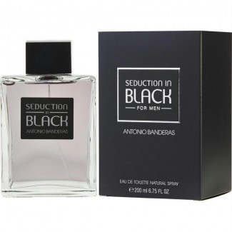 Antonio Banderas Seduction In Black EDT For Men 200ml