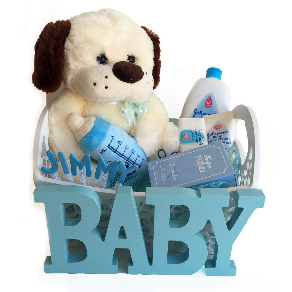 Baby Boy Or Girl Teddy Bear Arrangement Gifts To Lebanon Beirut
