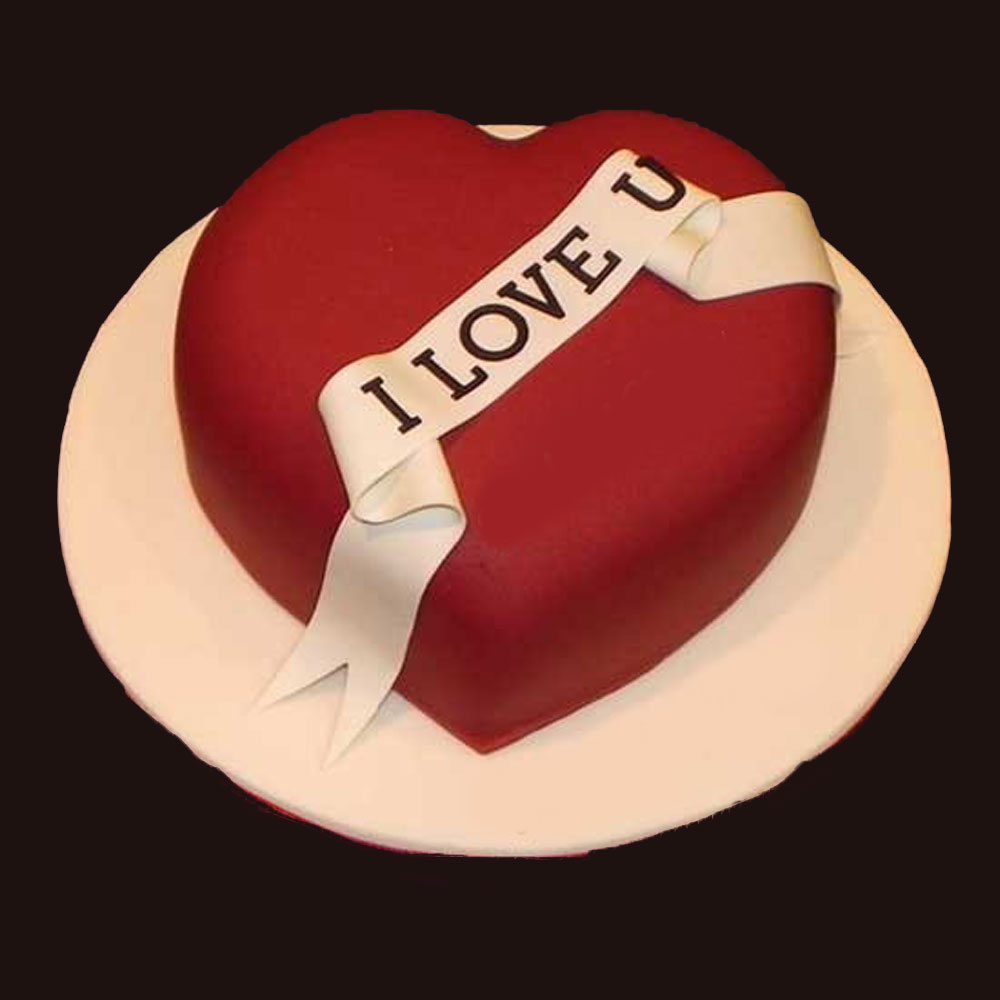 Heart Valentine Cake Gifts To Lebanon Beirut
