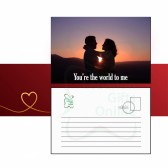 You're My World Message Card