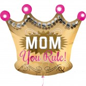 You Rule MOM Balloon