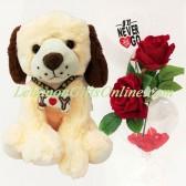 I Love U Cute Dog