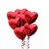 Red Love Heart Balloon Set